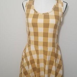 Gingham nicki dress